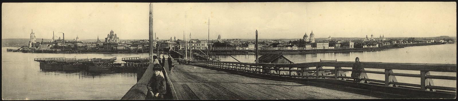 01. Панорама города. 1900