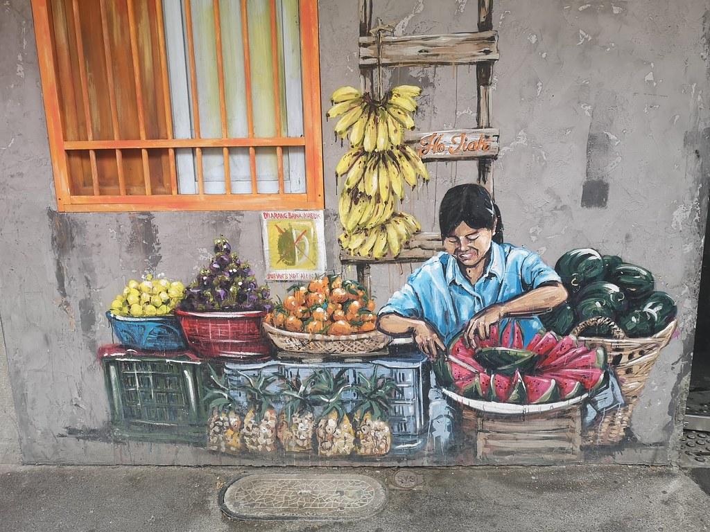 Mural at Chinatown