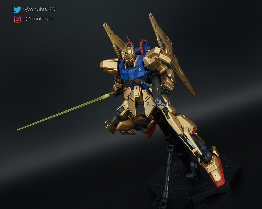 MG Hyaku Shiki 2.0 Painted Build