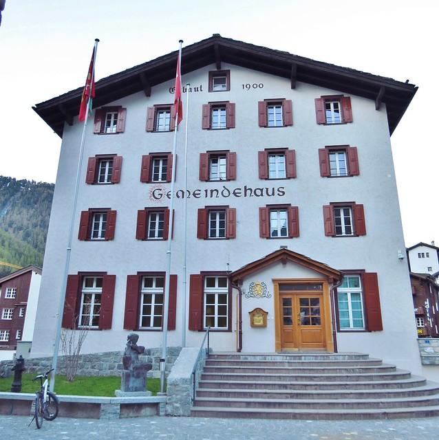 Gemeindeverwaltung, Gemeindehaus, Local Government, Zermatt, Switzerland