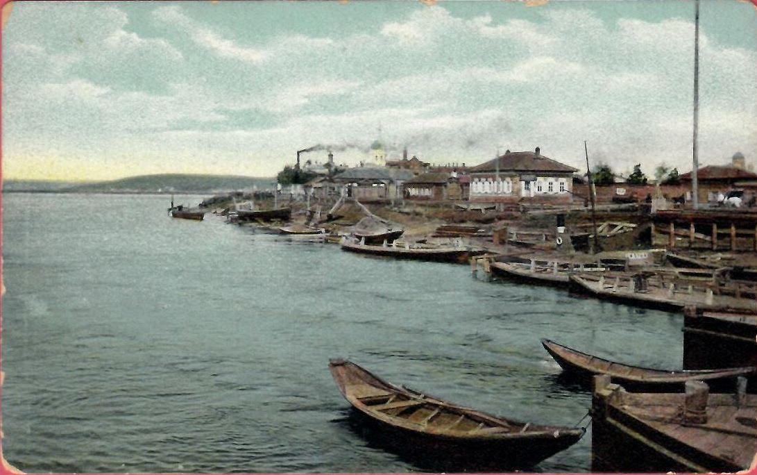 25. Вид на город с понтонного моста