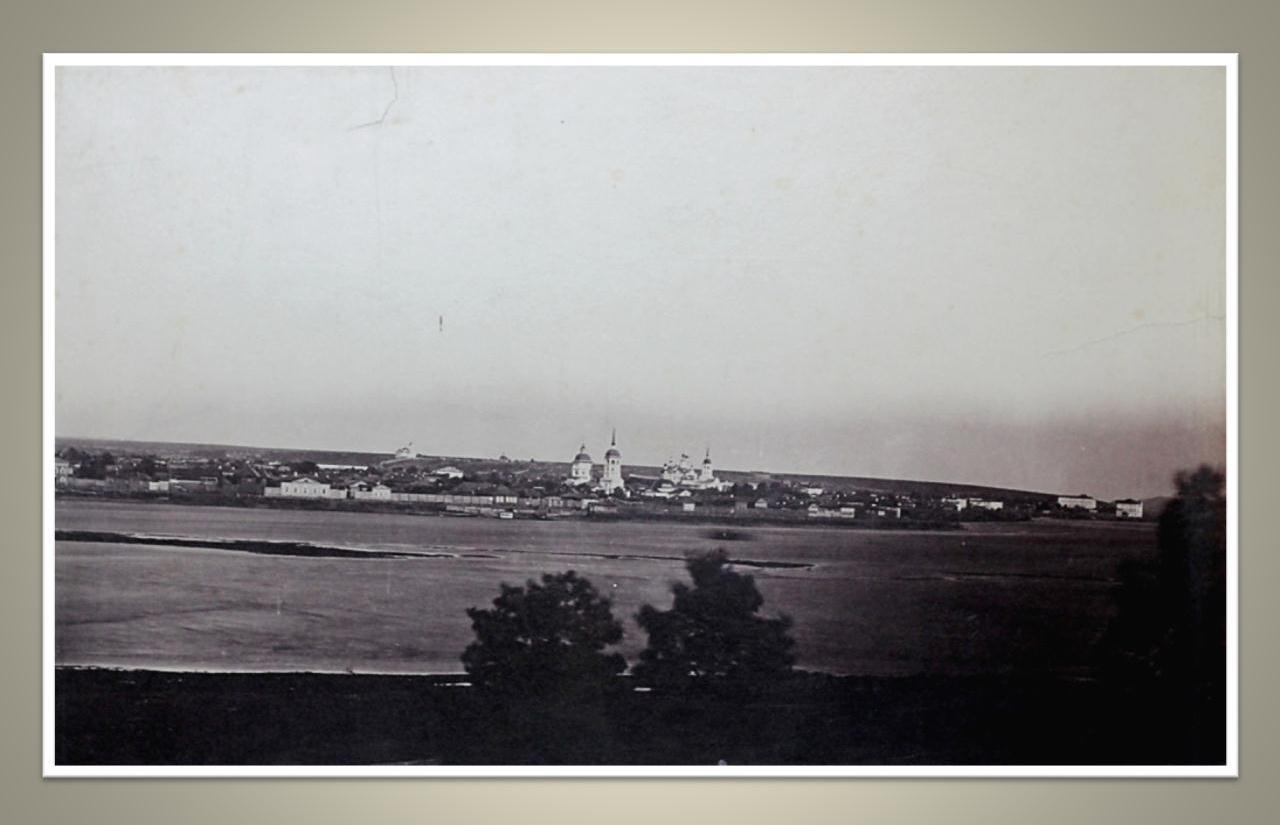 08. Вид города с Кайской горы. 1860-е