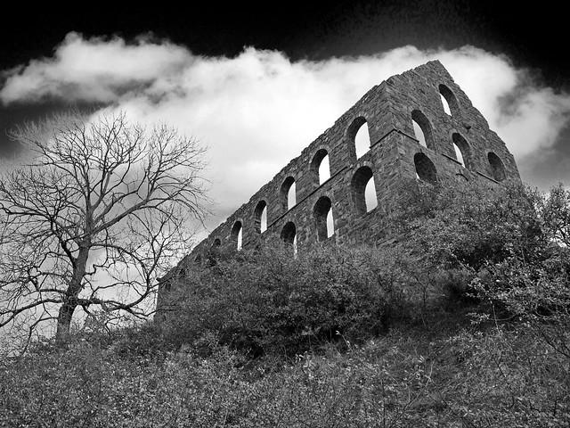 L1340549_bw - Ynys-y-Pandy Slate Mill, Cwmystradllyn