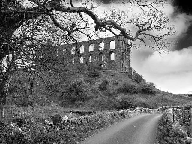 L1340534_bw - Ynys-y-Pandy Slate Mill, Cwmystradllyn