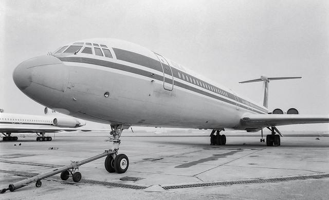 Ilyushin IL-62 OK-BYV