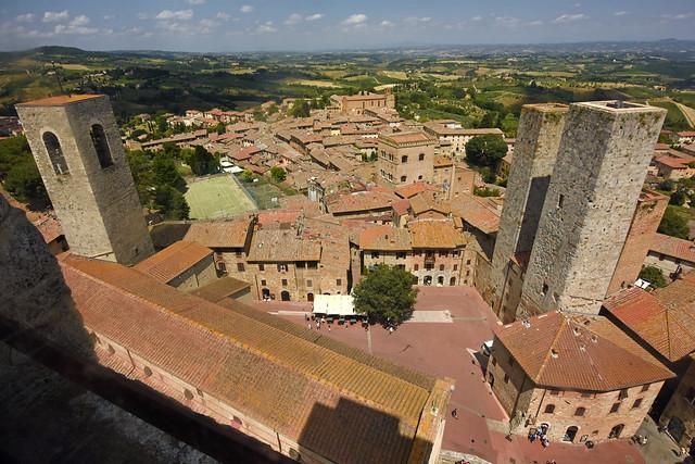 Italy - Tuscany - San Gimignano - Tower view 07_DSC9031