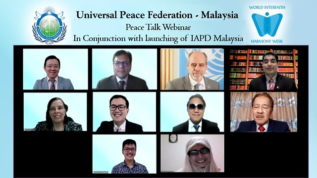 Malaysia-2021-02-03-Malaysia 'Peace Talks' Celebrates World Interfaith Harmony Week, Launches IAPD