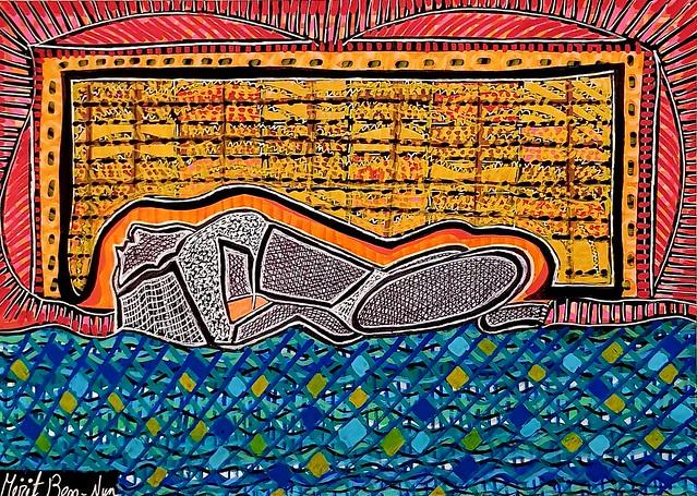 אמנות פמיניסטית מירית בן-נון ציירת ישראלית אמנית מודרנית עכשווית