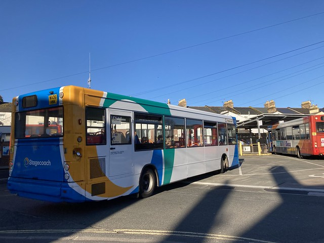 Stagecoach South West 34876 seen here in Paignton Bus Station.