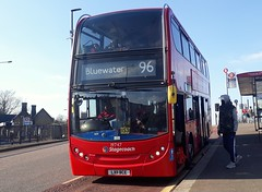 Stagecoach London - ADL Enviro 400/E40D - 19747 LX11BCE - Route 96 - Bluewater