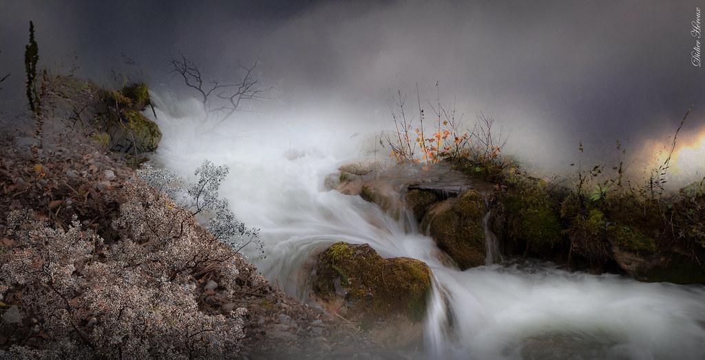 Quand l'eau et le ciel se croisent