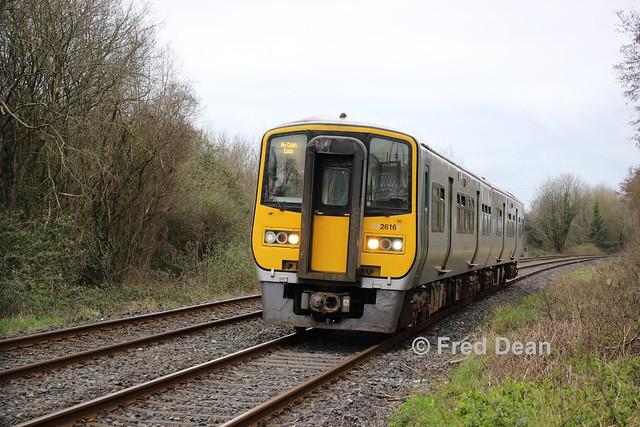 Irish Rail 2616/05 in Little Island.