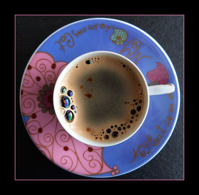 A cup of coffee!
