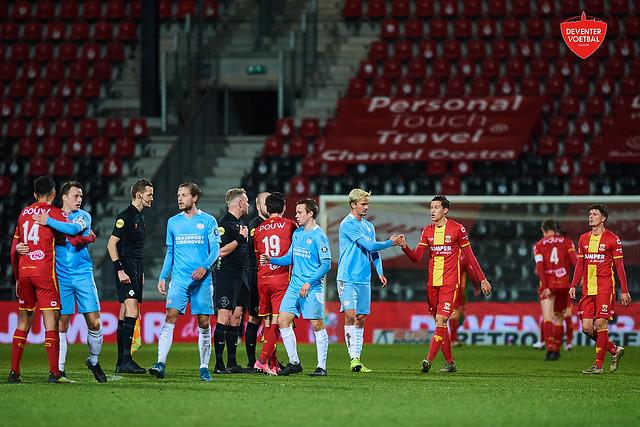 Go Ahead Eagles-Jong PSV Eindhoven 26-02-2021