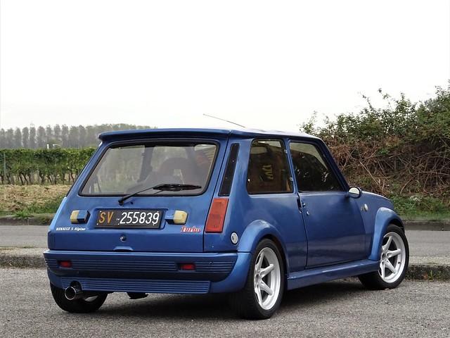 1982 Renault 5 Alpine Turbo