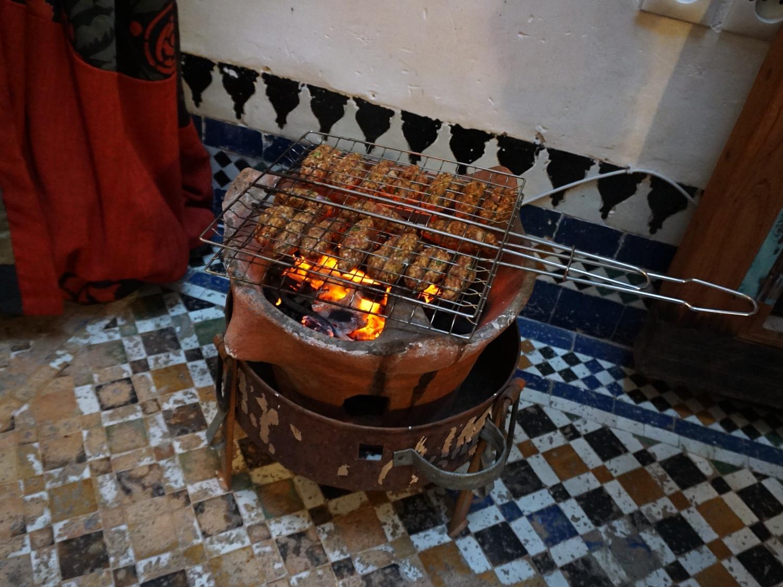Moroccan brochettes
