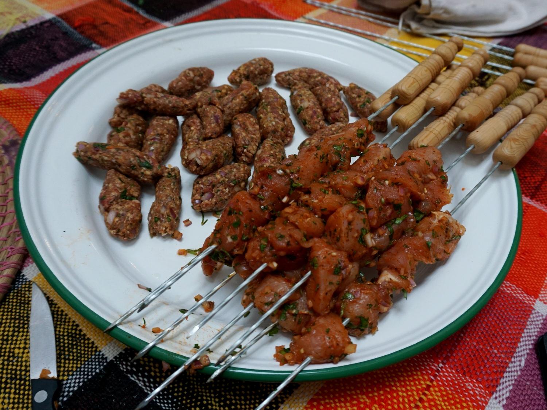 Morocco brochettes