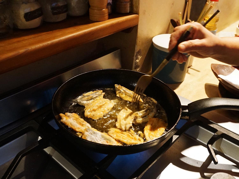 Chermoula sardines