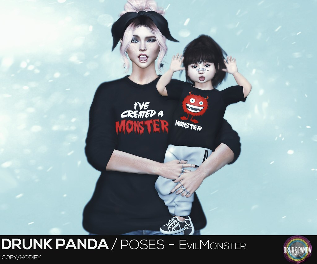 Drunk Panda - EvilMonster