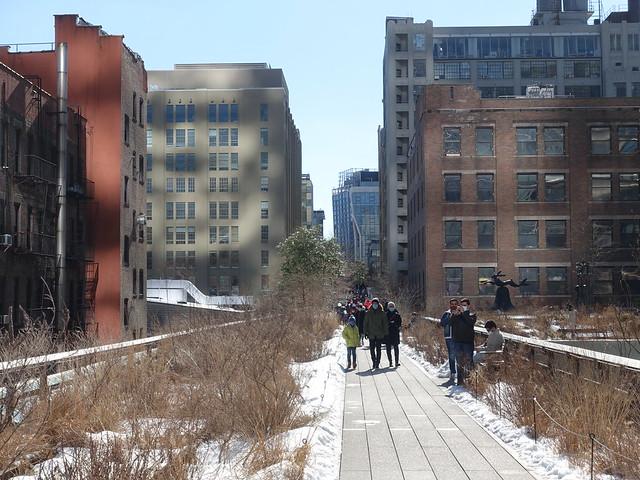 202102230 New York City Chelsea High Line