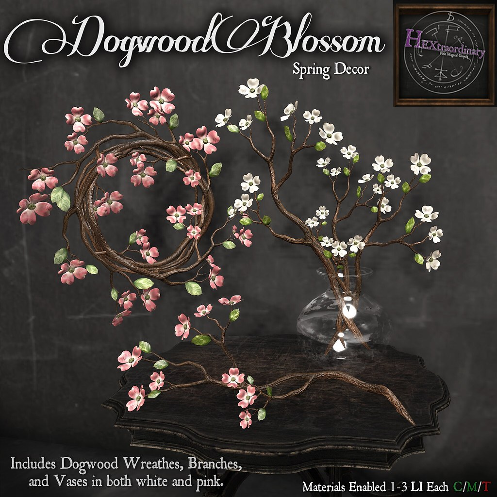 HEXtraordinary – Dogwood Blossoms – Wanderlust Weekend, 50L