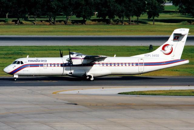 Lao Airlines   ATR 72-200   RDPL-34132   Bangkok Don Muang