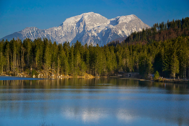 Hintersee lake, Berchtesgaden region, Bavaria