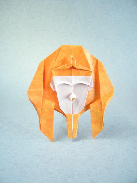 Máscara de Faraón - Celestino Picazo