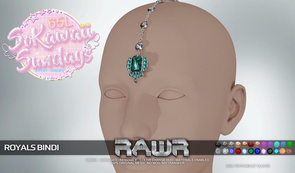 RAWR! Royals Bindi SKS