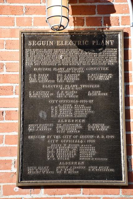Old Municipal Power Plant (Seguin, Texas)