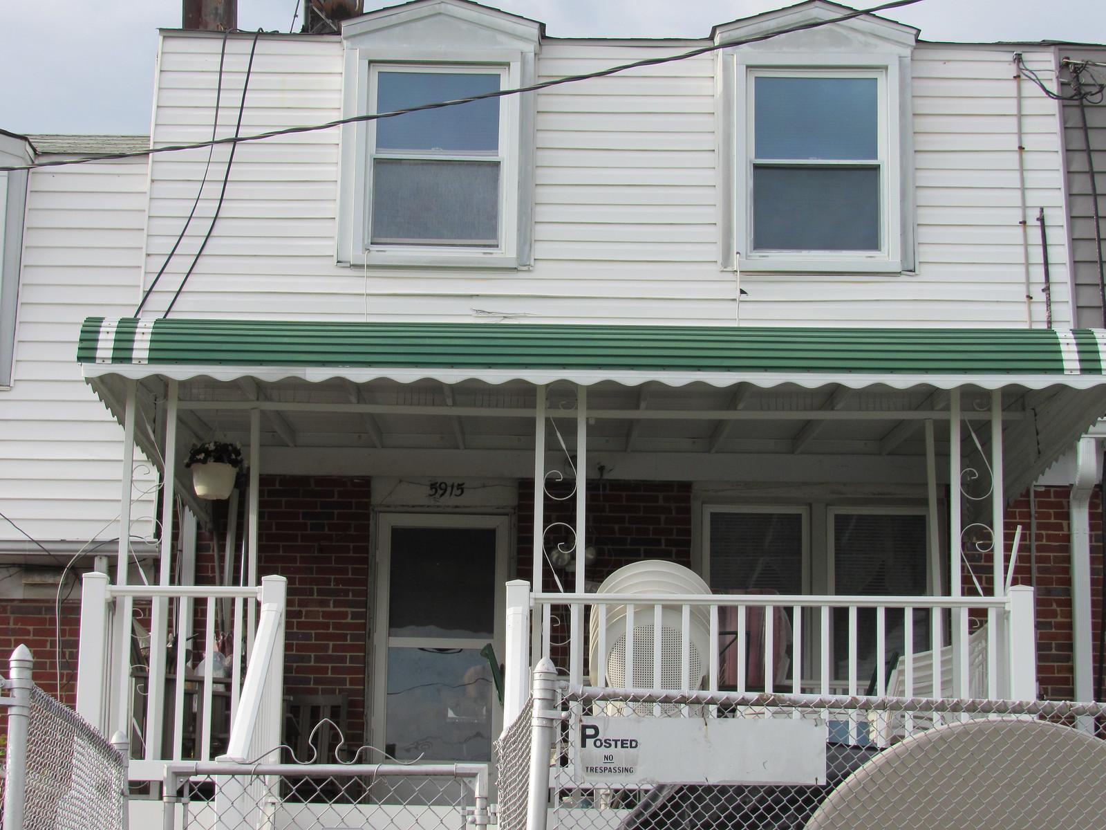 Aluminum Porch Awning-Hoffman-Baltimore