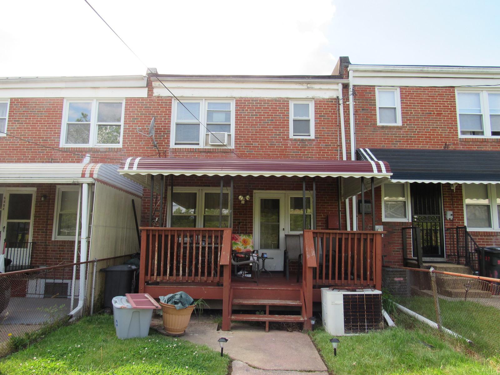 Front Porch Deck Awning - Hoffman Awning Baltimore