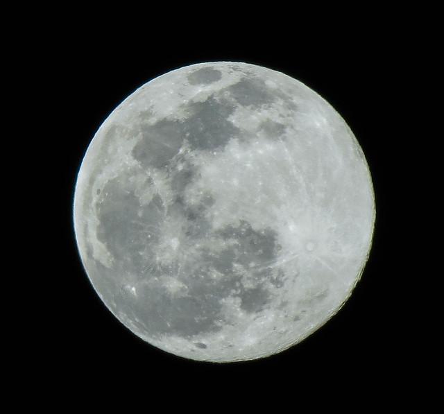 Full Snow Moon, from Casco ME