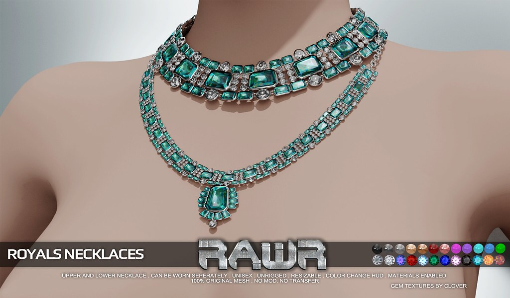 RAWR! Royals Necklaces PIC