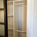 Home office closet after painting