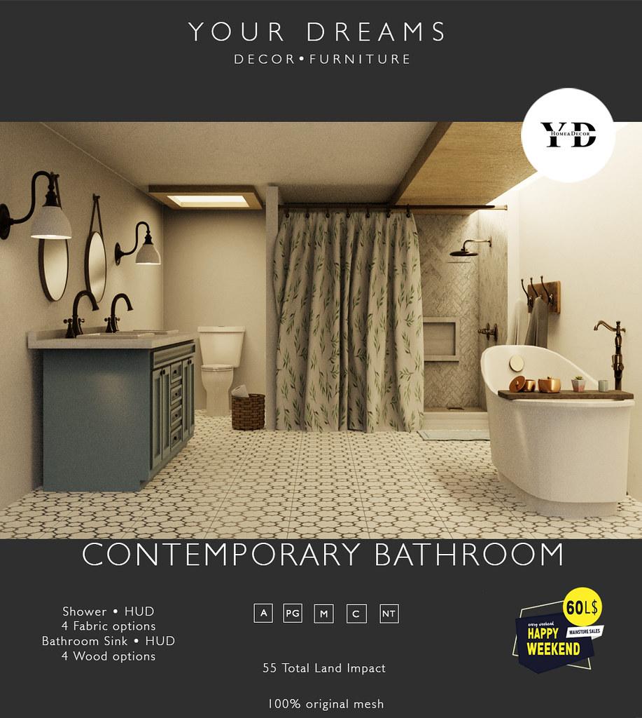 {YD}  Contemporary Bathroom