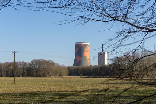 Meppen power station art