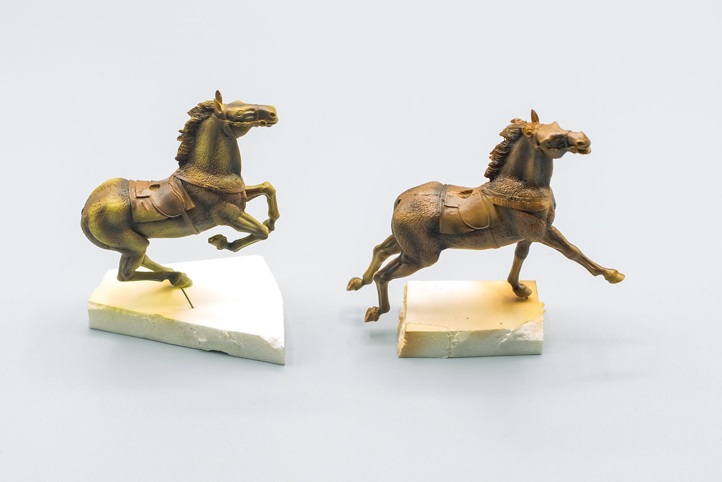 préombrage chevaux