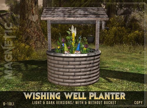 Wishing Well Planter 10L Hunt