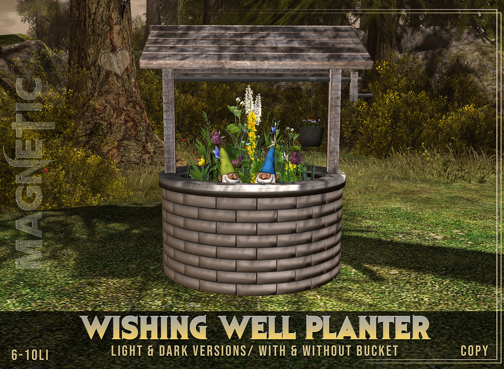 Wishing Well Planter 10L Hunt