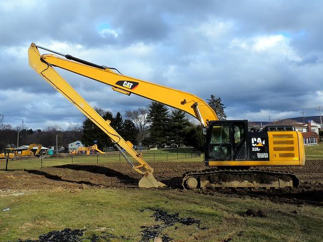 Caterpillar 326F excavator