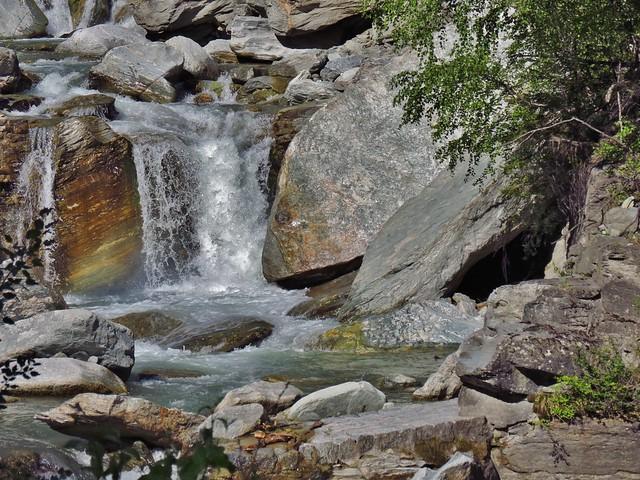 En-route from Zermatt to Visp, Switzerland