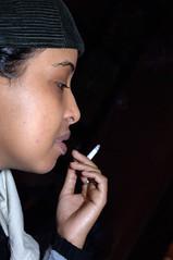 DSC_0095 Jasmine from Somalia Smoking Portrait Sunday Lunch Shoreditch London