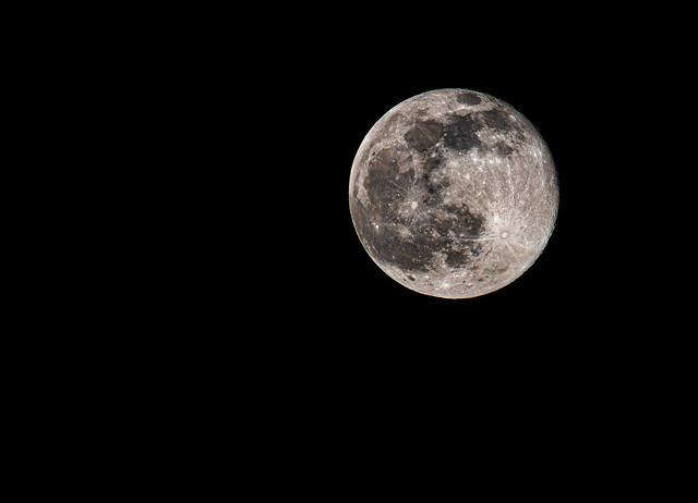 Snow Moon... Explored #333, 28 Feb 2021