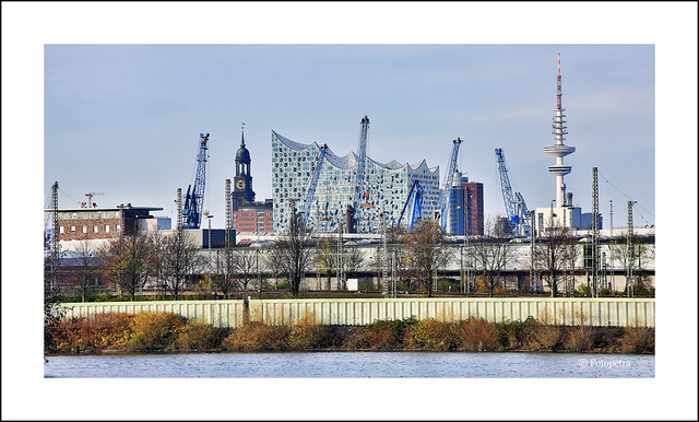 View off Hamburg