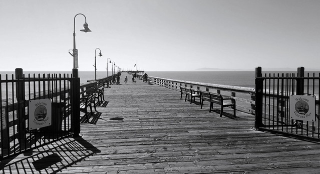 morning on the pier