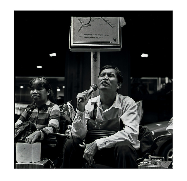 From the vault, blind buskers Silom Bangkok