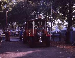 marktriumphman posted a photo:	AN 9568 Foden at Clapham Common 15-9-73