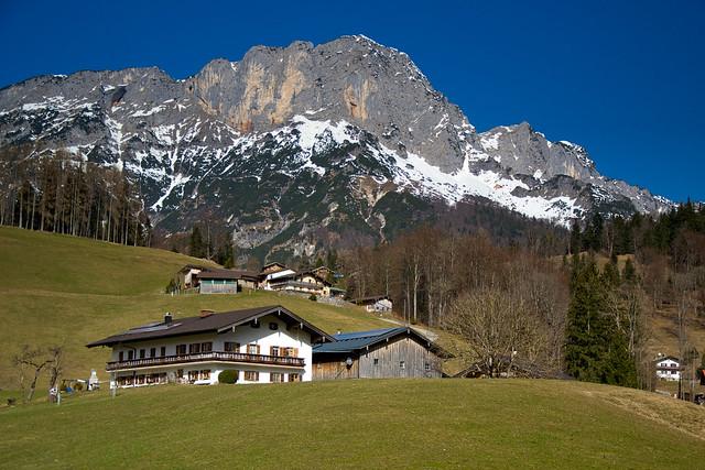 Obergern and the Untersberg