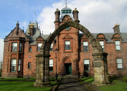 Memorial Arch and Municipal Buildings, Dumbarton